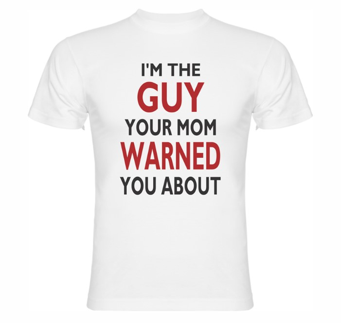 Modernes Druck der T-Shirts mit Aufschriften